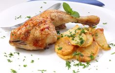 A Bite Of Bulgaria: Baked Chicken with Potatoes