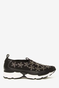 Jeffrey Campbell Aleska Trainer - Metallic Daisy