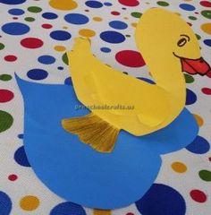 Duck Craft Ideas for Kids - Preschool and Kindergarten & Paper plate duck craft ideas for preschool and kindergarten | Duck ...