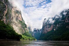 Cañón del Sumidero, Chiapas by alejandra cárdenas, via Flickr