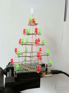 Charlieplexed Christmas Tree