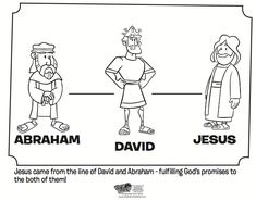 Abraham David And Jesus