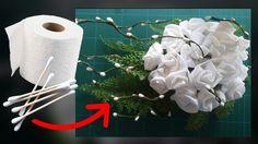 Fantastiche decorazioni floreali con la carta igienica! [VIDEO]