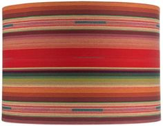 Mexican Print Drum Lamp Shade - Euro Style Lighting