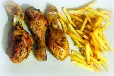 Udka kurczaka pieczone w rękawie