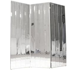 Henredon Beveled Mirror Room Divider | From a unique collection of antique and…