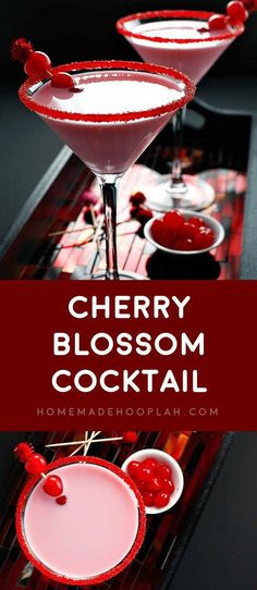 awesome Cherry Blossom Cocktail