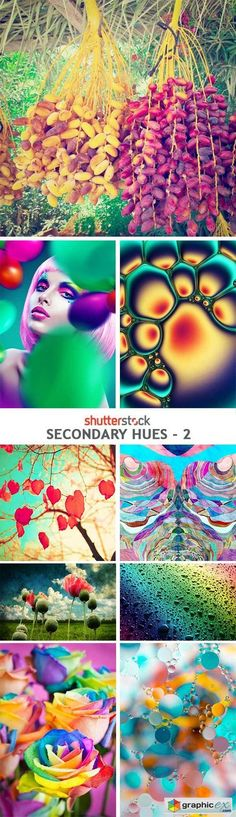 Secondary Hues  2  25xJPG  stock images