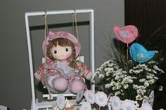 Boneca e passarinhos / doll and little birds