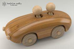 maya wooden toy couple