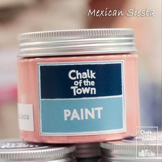 Mexican Siesta - Χρώμα Κιμωλίας   Chalk Of The Town® Paint Mexican, Colors, Painting, Painting Art, Colour, Paintings, Painted Canvas, Color, Mexicans