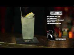 DrinksMeister har i samarbejde med Den Europæiske Bartenderskole fået lavet en lang række Cocktail og free pour videoer til alle jer derude. Her kan du se Henrik Murel fra EBS lave Tom Collins    Drinken Tom Collins (også kendt som John Collins) har en lidt skæggere historie at fortælle, end mange andre drinks. Tom Collins blev nemlig, i 1870′erne...
