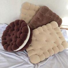 Food Pillows, Cute Pillows, Diy Pillows, Room Ideas Bedroom, Bedroom Decor, Cute Furniture, Kawaii Room, Cute Room Decor, Designer Pillow