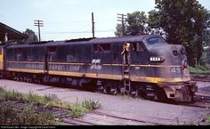 RailPictures.Net Photo: SCL 549 Seaboard Coast Line EMD E7(A) at Montgomery, Alabama by David Harris