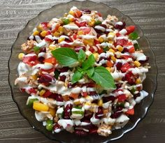Sałatki do grilla! Najlepsze przepisy. - Blog z apetytem Aga, Cobb Salad, Hot Dogs, Food And Drink, Menu, Cooking, Healthy, Desserts, Recipes