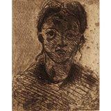 Paul Cezanne - TETE DE JEUNE FILLE (CHERPIN 4),... on MutualArt.com