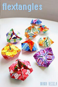 Des que vam descobrir els flextangles , fa una setmana, en el fantàstic blog Babble Dabble Do , els nens no han parat de fer-ne, de...