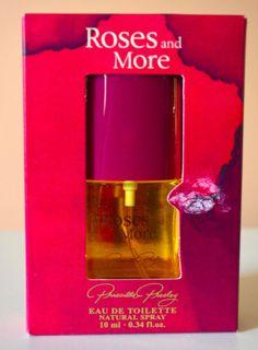 ROSES AND MORE Eau de Toilette Natural Spray Perfume .34 Fl Oz Priscilla Presley #PriscillaPresley