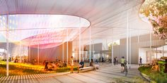 A New Art Museum Whose Ceiling Creates Inspiring Outdoor Spaces | Wired Design | Wired.com