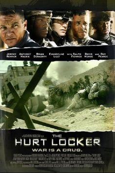 The Hurt Locker (2008) Anthony Mackie played the role of Sergeant JT Sanborn.