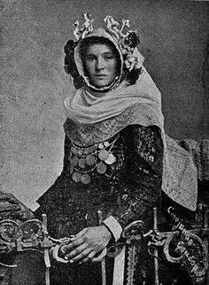 Serbian Girl,  end of XIX century