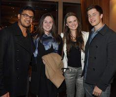 Rahal Banagalage, Jordan Bulley, Grace Soutter and Max Niedermeier.
