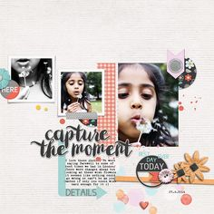 Digital Digiscrapbooking Layout by Shivani With On This Day | Full Kit by ninigoesdigi http://www.oscraps.com/shop/on-this-day-kit-ninigoesdigi.html + Template is The Sketch 41 by Kitty Designs Credits and links in the gallery