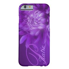 """Beautiful fine art chrysanthemum """"the opening"""" floral case for your iphone. Personalise with your name and initial. This example reads: """"Katie P"""". Original design and painting by Sarah Trett.. www.sarahtrett.com """"named"""" chrysanthemum red hue iPhone 6 case barely case by Mylittleeden #floral #your #name #flower #inital #flora #fine #art #chrysanthemum #mauve #purple #katie #unique #pretty #plant #botanical #stylish #cover #girls #ladies #sarah #trett #my #little #eden #first #name #everyday…"""