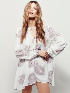 Tree Swing Printed Top from Free People!