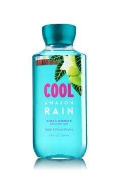 Cool Amazon Rain - Shower Gel - Bath & Body Works - Wash your way to softer, cleaner skin with a rich, bubbly lather bursting with fragrance. Moisturizing Aloe and Vitamin E combine with skin-loving Shea Butter in our most irresistible, beautifully fragranced formula! Bath N Body Works, Bath And Body Works Perfume, Rain Shower, Shower Gel, Perfume Body Spray, Body Mist, Body Lotions, Signature Collection, Neutrogena