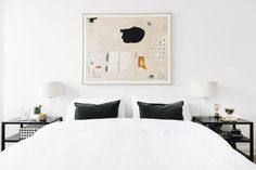 Tour The EveryGirl Co-Founder's stunning Chicago home + shop the post! | lark & linen #theeverygirl #hometour #bedroomdesign