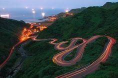 Jinshui Road, New Taipei  #Taiwan 新北市 瑞芳區 金水公路