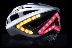 Lumos helmet design with integrated LED brake light and turn signals Buy Bike, Bike Run, Velo Design, New Helmet, Car Led Lights, Specialized Bikes, Bicycle Maintenance, Helmet Design, Cycling Equipment