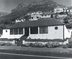 De Post Huys, a signal blockhouse built as an observation post controlling False Bay and which was completed in a year before the Castle in Cape Town was occupied. Cape Dutch, Cape Town, Vintage Photos, South Africa, Coastal, Old Things, History, Afrikaans, Outdoor