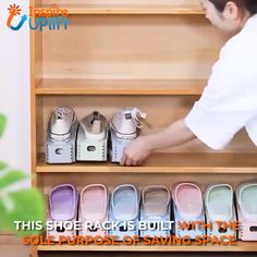 Organization Ideas For The Home Closet Organization Organisation How To Paint Kitchen Cabinets Shoe Organizer Cool Inventions Truc Cool Shoe Storage Things To Buy Closet Organization, Kitchen Organization, Kitchen Storage, Organization Ideas, Closet Storage, Storage For Shoes, Shoe Storage Ideas Bedroom, Kitchen Tools, Kitchen Gadgets