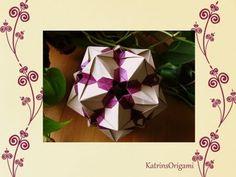 Origami ♥ Sandra Tony ♥ Kusudama - YouTube