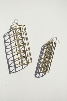 Anndra Neen - Cage Cylinder Earrings | BONA DRAG