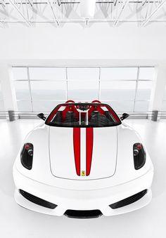 White Ferrari that I really want