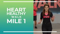 To wrap of Heart Month, here is a brand new Heart Healthy Walk! This is a 1 mile walk with a brand new cast! Aerobic exercise is one of the TOP PROTECTORS of. Fitness Brand, Health Fitness, Walking Exercise, Walking Workouts, Walking With Weights, Plank Workout, Workout Plans, Online Workout Videos, Leslie Sansone
