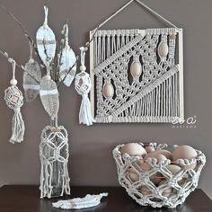 dekor tip Interior S, Handmade Home, Crochet Earrings, Christmas, Instagram, Easter, Decoration, Home Decor, Ideas