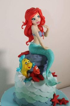 Ariel by Elena Michelizzi Ariel by Elena Michelizzi Ariel by Elena Michelizzi The post Ariel by Elena Michelizzi appeared first on Dress Models. Little Mermaid Cakes, Mermaid Birthday Cakes, Little Mermaid Parties, Disney Little Mermaids, Ariel The Little Mermaid, Birthday Cake Girls, Sirenita Cake, Bolo Original, Super Torte