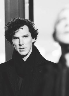 Benedict Cumberbatch as Sherlock Holmes.  He's just too beautiful...