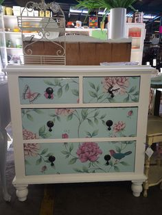 Gorgeous antique upcycled chest of drawers - Available now! (13/12/13)