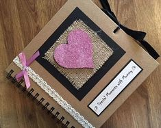 Mother's Day Special Moments with Mummy/Mum Scrapbook Photo Album, Memory Book, Diary, Photo Book, M - Album Photo Scrapbooking, Scrapbook Sketches, Mothers Day Special, Special Gifts, Fancy Shop, Gifts For Nan, Family Tree Frame, Mother's Day Photos, Handmade Scrapbook