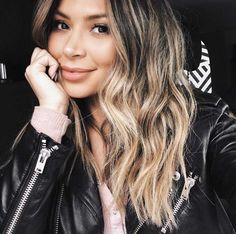 Chocolate brown balayage by Marianna Hewitt