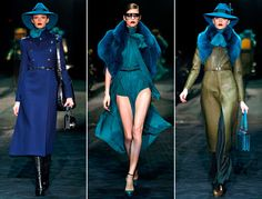 More Gucci Fall 2011. The whole line was incredible.