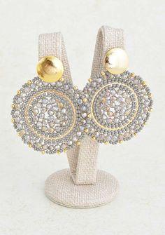 Jewelry Design Earrings, Ear Jewelry, Diamond Jewelry, Jewelery, Diy Necklace, Beaded Earrings, Earrings Handmade, Fancy Jewellery, Bead Jewellery