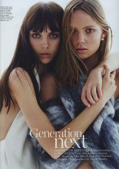 Generation Next' by Nicole Bentley for Vogue Australia October 2013