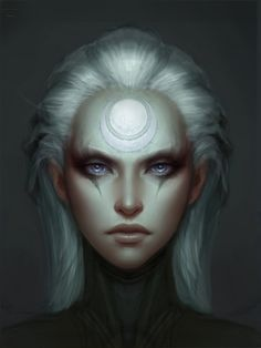 Diana Portrait, Michael Maurino on ArtStation at http://www.artstation.com/artwork/diana-portrait