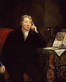 Livre 1, chapitre 40, page 480 : Edward Jenner peint par James Northcote